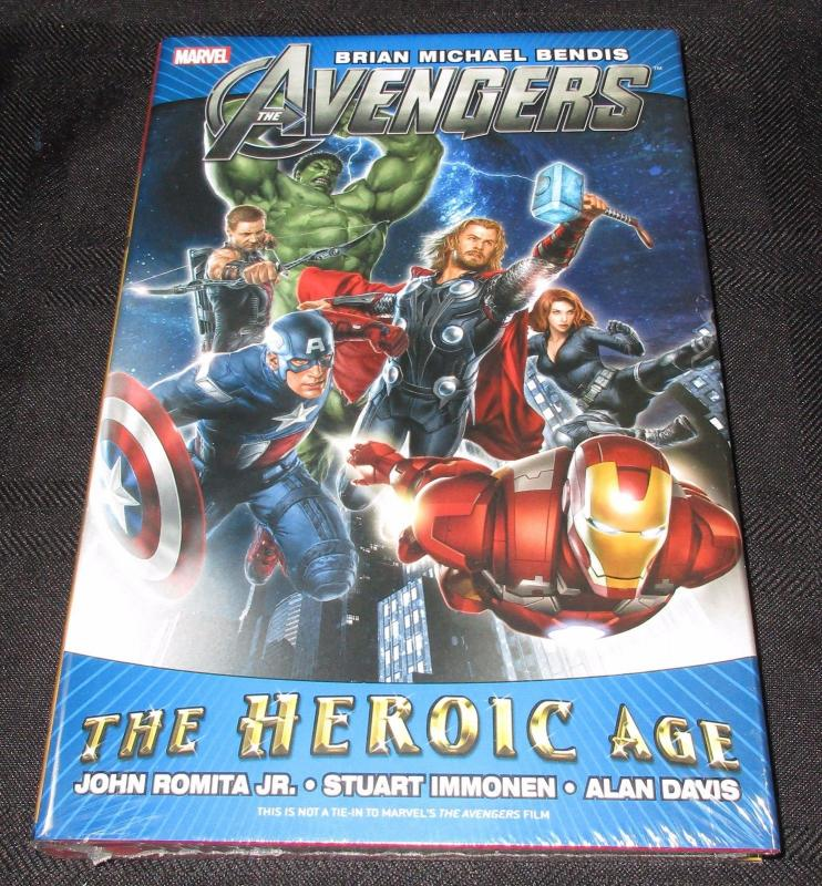The Avengers - The Heroic Age - Hardcover Graphic Novel (Marvel) - New/Sealed!
