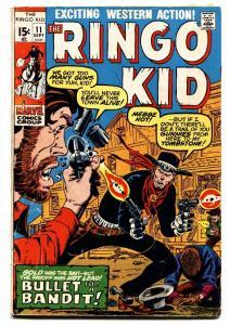 RINGO KID #11 1971-MARVEL-WESTERN ACTION VG