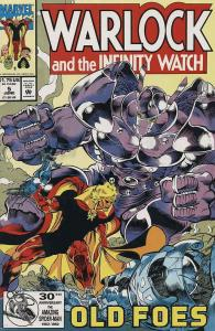 Warlock and the Infinity Watch #5 VF/NM; Marvel | save on shipping - details ins