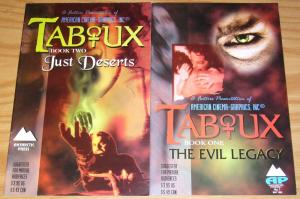 Taboux #1-2 VF/NM complete series - vampire horror - antarctic press comics set