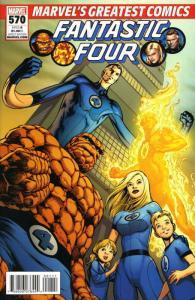 Fantastic Four (Vol. 1) #570 (2nd) VF; Marvel   save on shipping - details insid