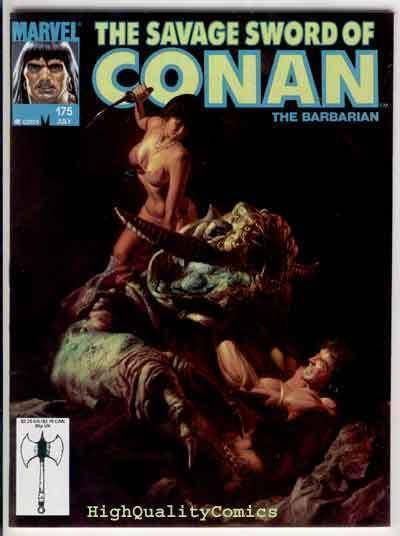SAVAGE SWORD of CONAN #175, VF/NM, Dorian, Demon Slayer, more SSOC in store
