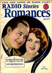 Radio Stories Romances 5/1925-MacFadden-pulp thills-Death Valley-crime-VF-