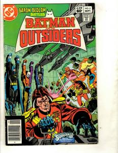 12 Batman and the Outsiders DC Comics # 2 3 4 5 6 7 8 9 10 11 12 13   EK4