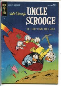 UNCLE SCROOGE #49 1964-GOLD KEY-WALT DISNEY-CARL BARKS ART-vg