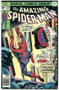AMAZING SPIDER-MAN #160 1976- Spider-mobile- Marvel Comics FN