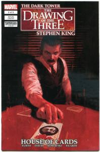 STEPHEN KING DARK TOWER House of Cards, Drawing of the Three 3, NM,more in store
