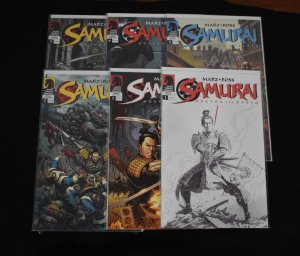 Samurai: Heaven and Earth #1-6 (Dark Horse, 2005) NM