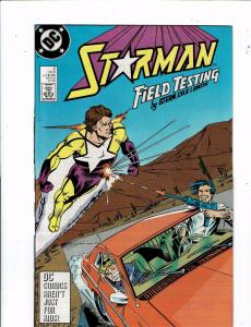Lot Of 8 Starman DC Comic Books # 2 3 4 5 6 7 8 9 Power Girl Blue Beetle J212