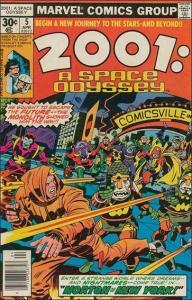Marvel 2001: A SPACE ODYSSEY #5 VF