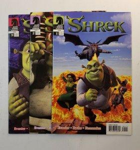 Shrek #1-3 Complete Set High Grade VF/NM Dark Horse Comics 2003 Series