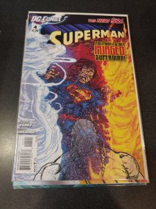 Superman #4 (2012)