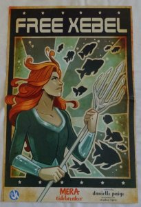 FREE XEBEL Promo Poster , 11 x 17, 2019, DC, Unused more in our store 061