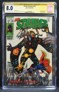 Doctor Strange #180 (Marvel, 1969) CGC 8.0 SS Stan Lee