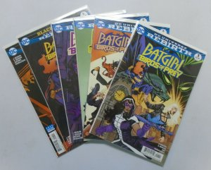 Batgirl and the Birds of Prey 6 Different Variants 8.0 VF (2016)