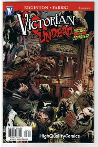 VICTORIAN UNDEAD 3, VF+, Sherlock Holmes vs Zombies, 2010, more in store