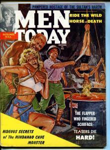 Men Today #5 12/1961-sadomasochistic-hardboiled-bondage-pulp-girl fight-VG+