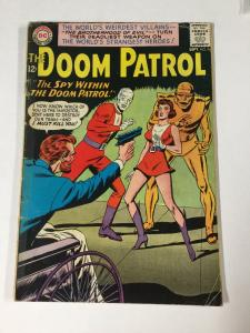 Doom Patrol 90 4.0 Vg Very Good Dc Silver Age Tape On Spine