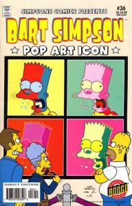 Simpsons Comics Presents Bart Simpson #36 VF; Bongo | save on shipping - details