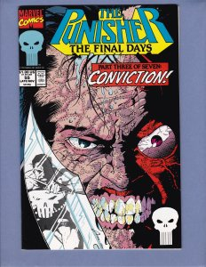 Punisher #55 NM- Jigsaw Marvel 1991