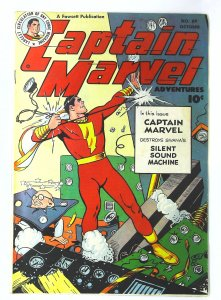 Captain Marvel Adventures (1941 series) #89, Fine (Actual scan)