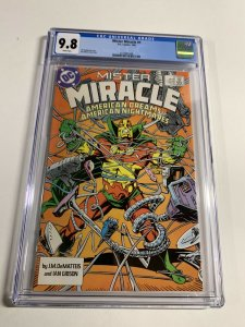 Mister Miracle 1 Cgc 9.8 White Pages Dc Comics