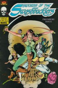Swords of the Swashbucklers #1 FN; Epic | save on shipping - details inside