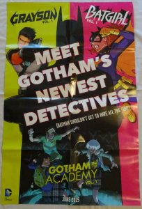 GOTHAM ACADEMY Promo Poster , 22 x 34, 2015, DC,  Unused more in our store 027