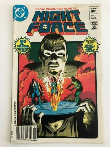 NIGHT FORCE #1 MARV WOLFMAN and GENE COLAN (DC Comics Horror 1982) VF