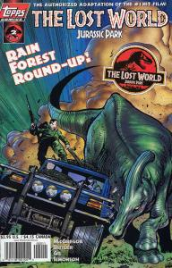 Lost World, The: Jurassic Park #2 VF/NM; Topps | save on shipping - details insi