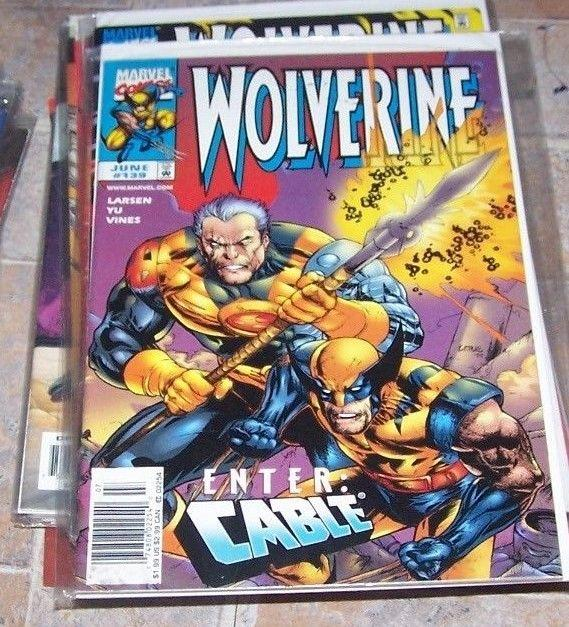 Wolverine #139 (Jun 1999, Marvel) cable