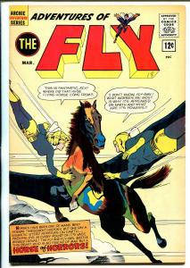 Adventures of The Fly #18 1962-Archie-Fly Girl-Fly World-Jaguar-VF-