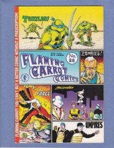 Flaming Carrot Comics #26 FN/VF Teenage Mutant Ninja Turtles