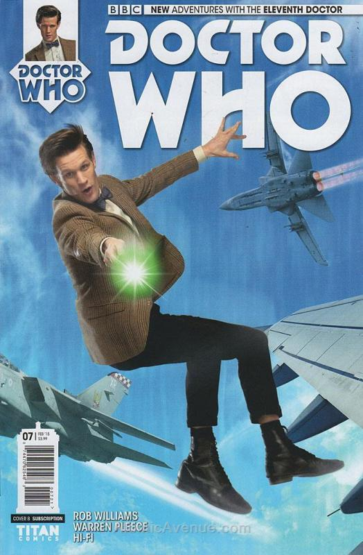 Doctor Who: The Eleventh Doctor #7A VF/NM; Titan | save on shipping - details in