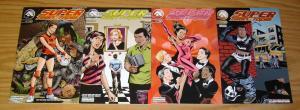 Super Teen*Topia #1-4 VF/NM complete series - alias comics set lot 2 3