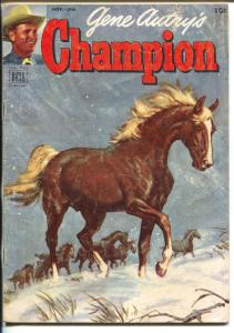 Gene Autry's Champion #8 1952-Dell-the famous horse from the movies-VG+