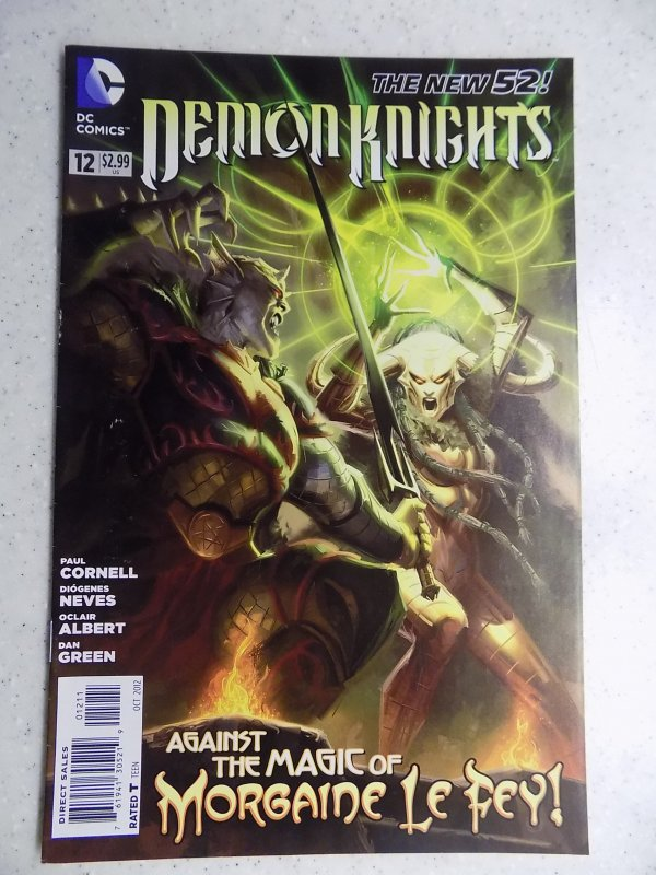 NEW 52 DEMON KNIGHTS # 12