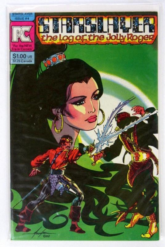 STARSLAYER #4, VF/NM, Mike Grell, Sergio Aragones, 1982, more in store