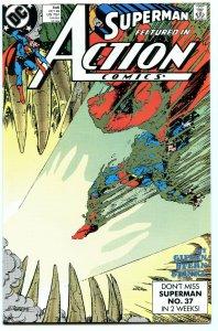 Action Comics 646 Oct 1989 NM- (9.2)