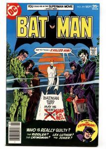 Batman #291 Rogues Gallery- 1977-Bronze Age-DC comics