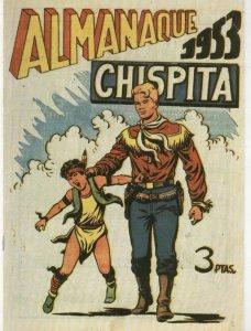 Chispita almanaque facsimil 1953