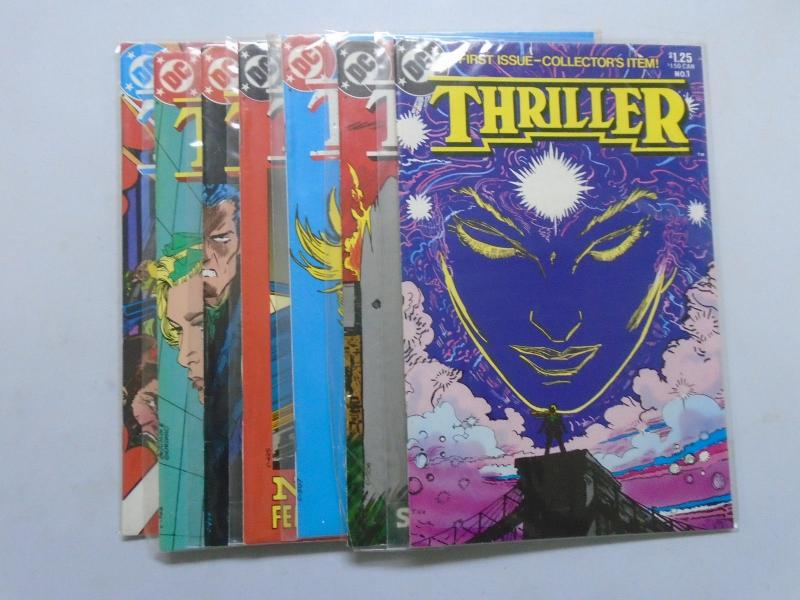 Thriller, Set:#1-8, 8.0/VF (1983)