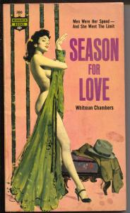 Season For Love #380 1963-Monarch Books-Whitman Chambers-Bob Maguire-VG