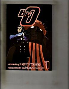 The Big O Vol. #1 Viz TPB Graphic Novel Comic Book Hitoshi Ariga CE4