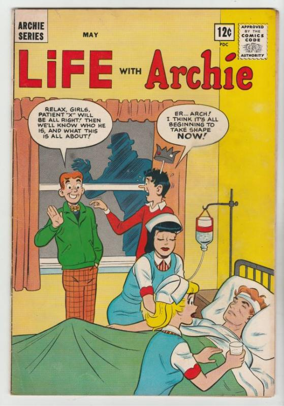 Life with Archie #27 (May-64) FN- Mid-Grade Archie, Jughead, Betty, Veronica,...