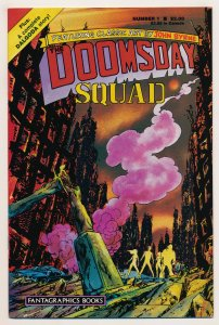 Doomsday Squad (1986) #1-7 VG to NM Complete series