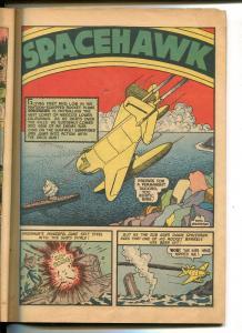 TARGET VOL 3 #10-1942-NOVELTY PRESS-SPACEHAWK-WOLVERTON-MICKEY SPILLANE-poor