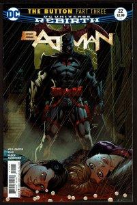 Batman #22 Rebirth (Jul 2017, DC) 0 9.0 VF/NM