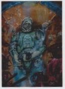 1996 Topps Finest Star Wars DENGAR #35 Chromium
