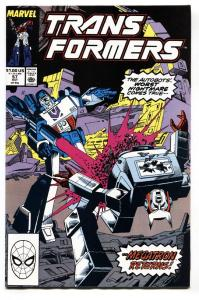 TRANSFORMERS #57-comic book-1989-later issue-htf-marvel